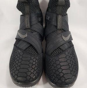 the latest 15b4a 78a42 Nike LeBron Soldier 12 XII Triple Black Basketball
